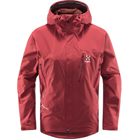 Haglöfs Astral GTX Jacket Women brick red